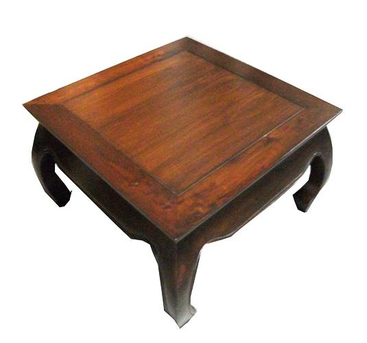 Balinese Teak Coffee Table: COFFEE TABLES OPIUM 80X80X40cm (325dul)= : C.V. Prime Java