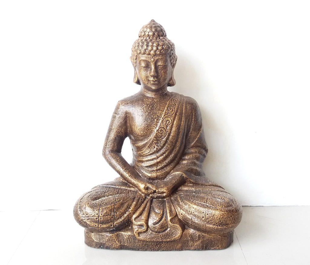 Statue Sitting Buddha 60cm 85tm C V Prime Java