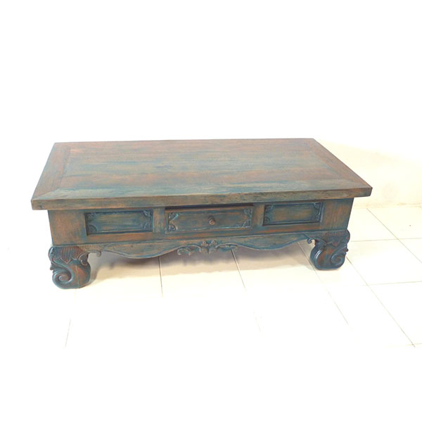 Coffee Table 2 Drw 150x70x50cm 850psr C V Prime Java